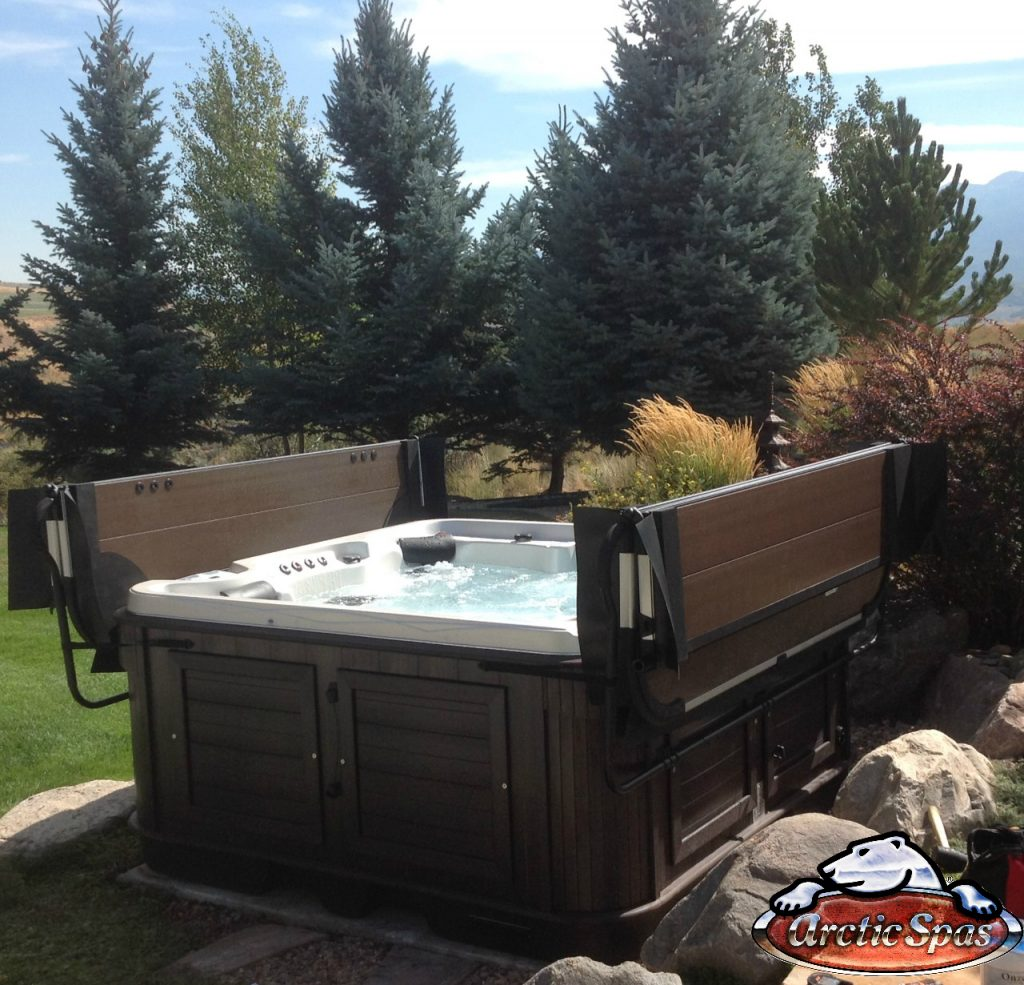 Hermann family new hot tub Arctic Spa Cub