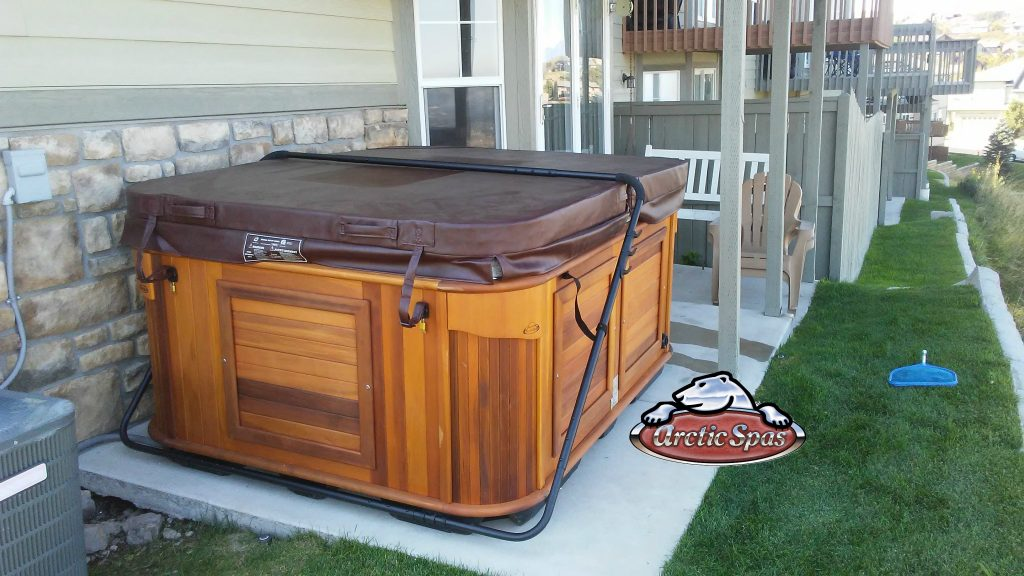 Bateman family new hot tub Arctic Fox
