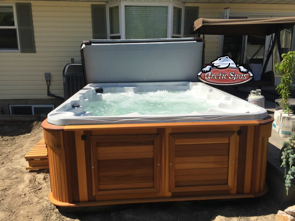 Ables family new Arctic Spa Summit XL
