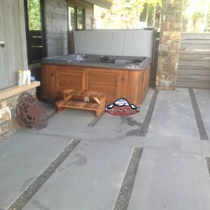 Chalker's new Refurbished Summit in Dakota Granite with a Red Cedar Cabinet