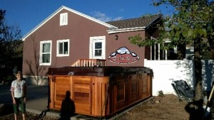 Crowley's new Arctic Ocean in Platinum with a Red Cedar Cabinet