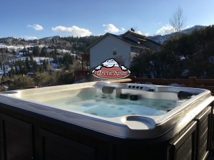 Geige's new Arctic Spas Cub in Half and Half with a Composite Cabinet
