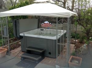 Marler's new Arctic Spas hot tub