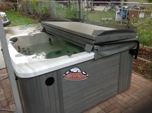 Marler's new hot tub Arctic Spas