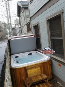 Moore new Arctic Spas Fox with a Red Cedar Cabinet
