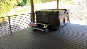 Raddon's new Arctic Fox in Kalahari with a Sable Composite Cabinet