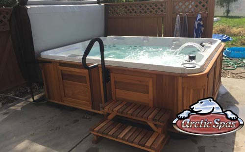 the biggest, baddest hot tub in our line up!