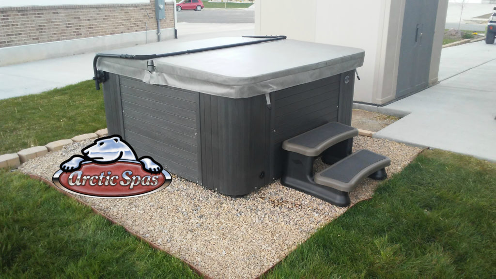 Adam's Family New Coyote Spa with a cover