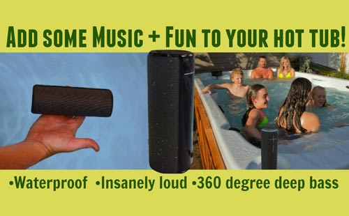 add some music & fun to your arctic spa!