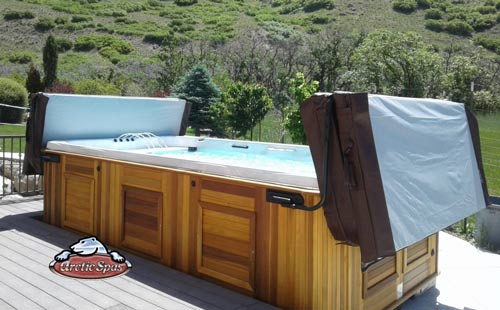 nelson arctic spa kingfisher all weather pool delivery