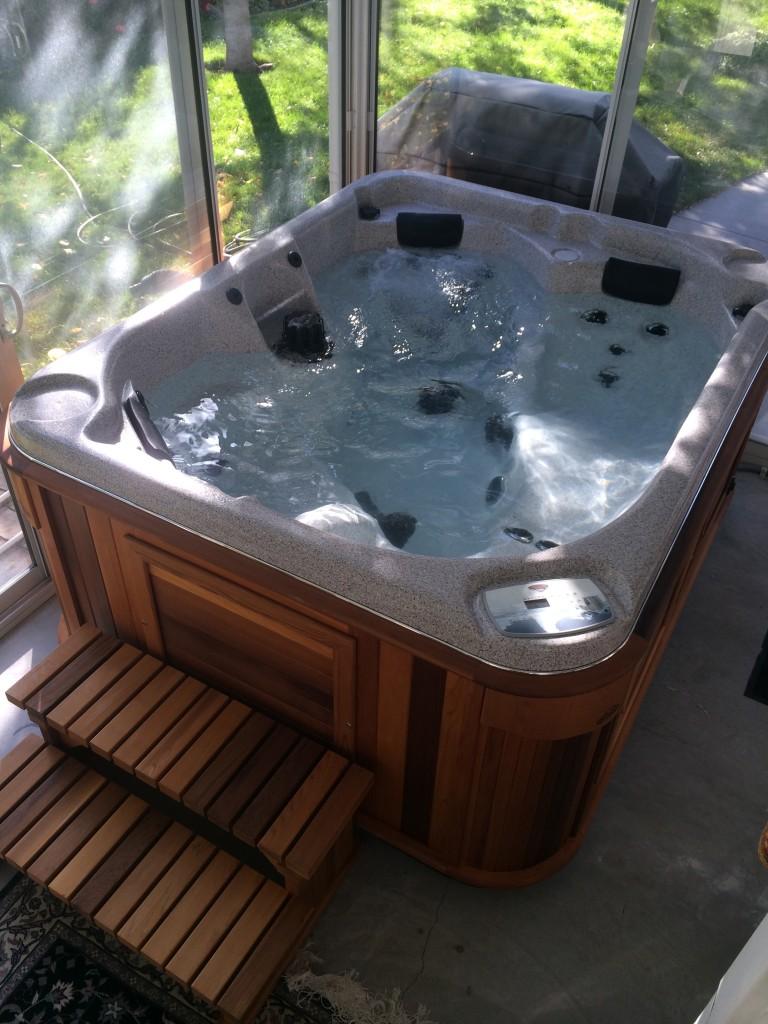 indoor arctic spa deliver