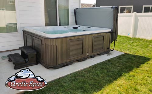 white family picked our arctic spas summit xl