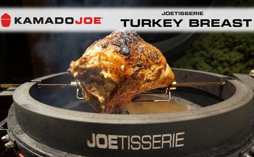 komado joe joetisserie turkey breast