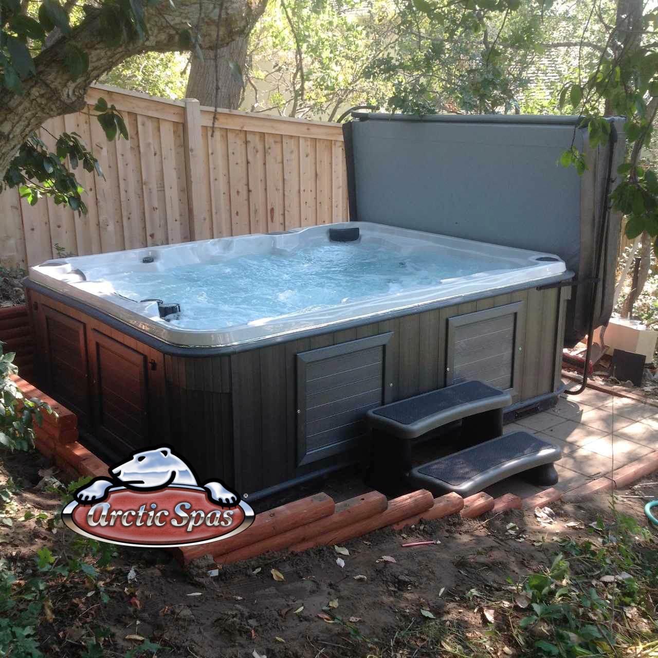 Knoch Family's new Arctic Spa hot tub Summit XL
