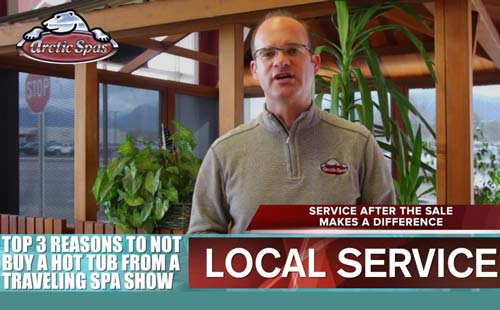 top 3 reasons to not buy from a traveling hot tub spa show